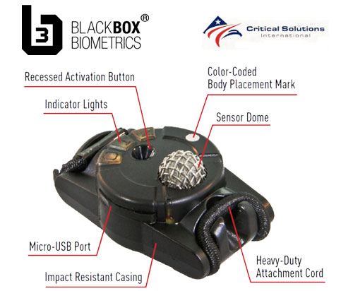 CSI and Black Box Biometrics team up for blast gauge