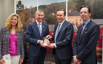 Sen. Chris Murphy Receives Award for His Leadership on Domestic Defense Manufacturers